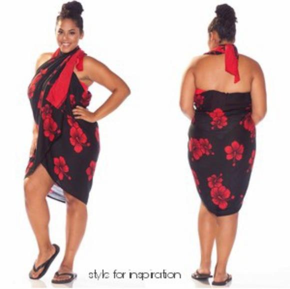 e97d1a18590 Plus Size Hawaii Sarong